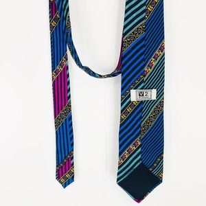 Versace Accessories - Mens Itailian silk v2 by Gianni Versace retro tie